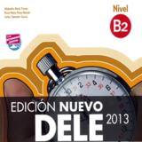 2013 最新DELE考试 b2 官方辅导参考书( 216页+34页听力材料脚本,独家供应,彩色封面,内页黑白